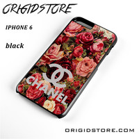 Floral Chanel 2 For Iphone 6 Case YG