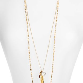 Women's Chan Luu Layered Cluster Pendant Necklace