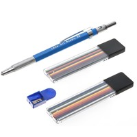 Mechanical Color Pencil Set For Artists With 19 Colored Leads