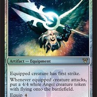 Magic: the Gathering - Moonsilver Spear - Prerelease & Release Promos - Foil