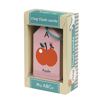 HACHETTE MY ABC'S RING FLASH CARDS