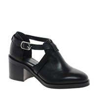 ASOS PREMIUM AFTERLIFE Leather Ankle Boots at asos.com
