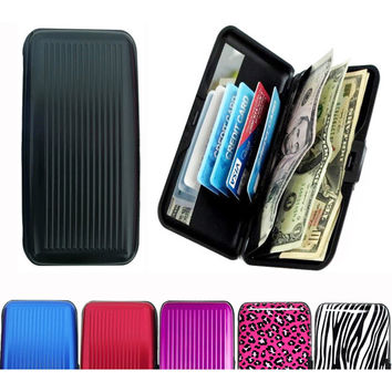 As Seen On TV Large Aluminum Wallet | Overstock.com Shopping - The Best Deals on Men's Wallets