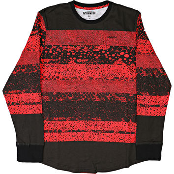 Staple MultiSpec Long Sleeve Tee - Red