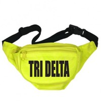 Delta Delta Delta Neon Nickname Fanny Pack | Great Pricing | Customize Now