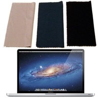 12 Pc. Microfiber Cleaning Cloths for Apple Macbook Pro