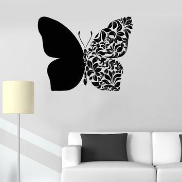 Vinyl Wall Decal Beautiful Butterfly Art Room Decoration House Decor Stickers Unique Gift (ig3231)