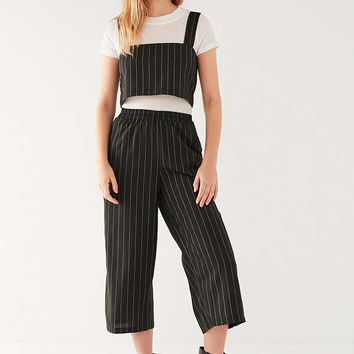 Lucca Couture White Stripe High-Rise Two-Piece Set   Urban Outfitters