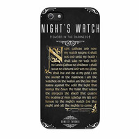 Game Of Thrones Nights Watch iPhone 5 Case