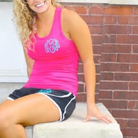 Running Shorts and Sports Tank Top- Monogrammed
