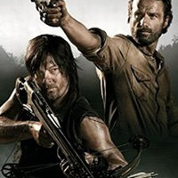 The Walking Dead Poster - Rick Grimes And Daryl Dixon Print 16x16