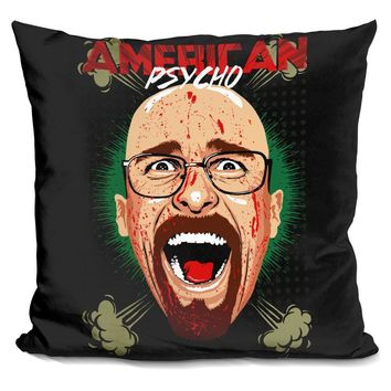 American Psycho Breaking Bad Edition Pillow