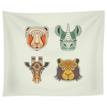 Safari Life Tapestry