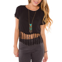 Bella Fringe Top