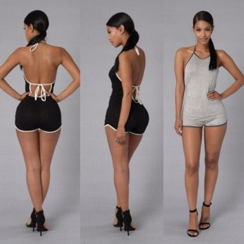 SEXY BACKLESS CUTE ROMPER