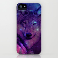 Space Wolf iPhone & iPod Case by hyakume