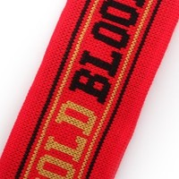 Gold Blooded Red Headband