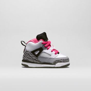 Jordan Spizike (2c-10c) Infant/Toddler Girls' Shoe, by Nike Size 5C (White)