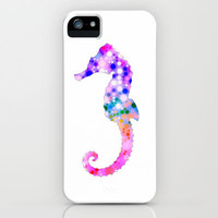 *** Sweet Summer Seahorse *** iPhone Case by M✿nika  Strigel for iphone 5 + 4 + 4 S + 3 G + 3 GS + ipod touch skin + pillow #ipad mini