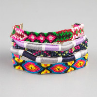 Full Tilt 5 Row Friendship Bracelet Multi One Size For Women 23560895701