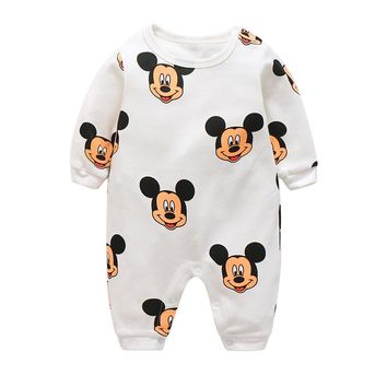 baby clothes new cute cotton winter newborn/infantil/bobysuit/kids rompers love animals boy/girlclothing