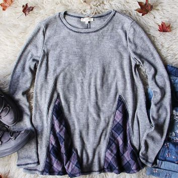 Northerner Plaid Thermal in Gray
