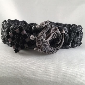 Dragon of the Dungeon - Children Paracord Heaven Survival Bracelet with Knot Closure