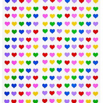 Rainbow Heart Sticker Sheets