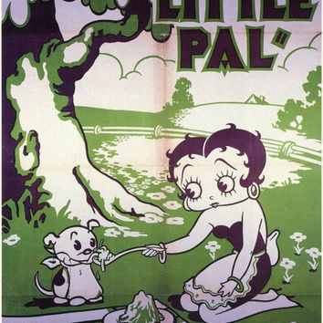 Betty Boop's Little Pal 11x17 Movie Poster (1934)