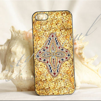 byzantine gold mosaic iPhone 4 Case, iPhone 4s Case, iPhone 5 case,Samsung GALAXY S III