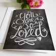 You Are So Loved - Note Card