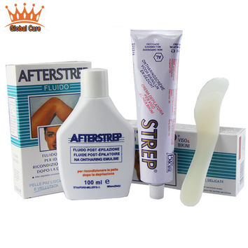 Genuine Italian STREP full body permanent depilate cream remove armpit lip legs hair removal depilation cream Free shipping