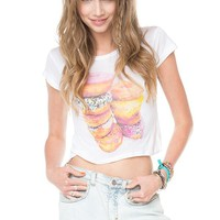 Brandy ♥ Melville |  Carolina Donuts Top - Graphic Tops - Clothing