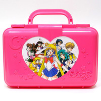 Sailor Moon Pretty Soldier 1992 Japanese Pink Trunk