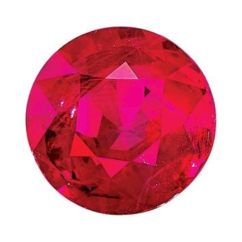 Loose Ruby Gemstone  3.25mm Round AA Quality
