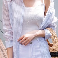 Slim Sheer Shirt