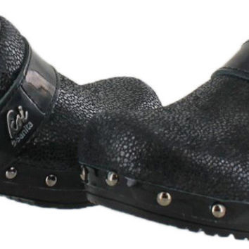Sanita Koi Sheila Women's Studded Leather Clogs Mules Comfort Shoes