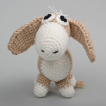 Baby toy handmade toy crochet stuffed animals childrens toys gifts for toddlers
