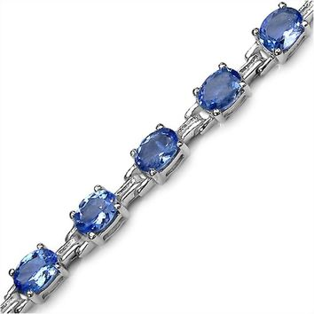 Gemstone Bracelets in Sterling Silver-Amethyst, Sapphire, Peridot and MORE!