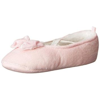 Carters Danza Faux Fur Infant Girl Slippers
