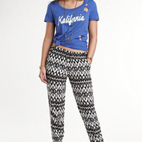 Kendall & Kylie Printed Pants at PacSun.com