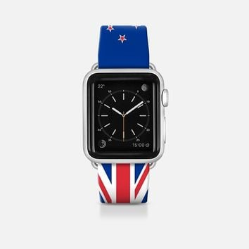 New Zealand flag - Patriot collection Apple Watch Band (42mm)  by WAMDESIGN | Casetify