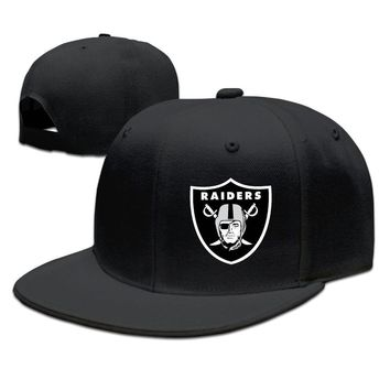 Oakland Raiders Logo Funny Unisex Adult Womens Baseball Hats Mens Hip-hop Cap