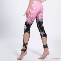 Kawaii Cherry Blossoms Leggings