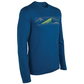 Icebreaker Tech T Lite LS - Highland - Men's