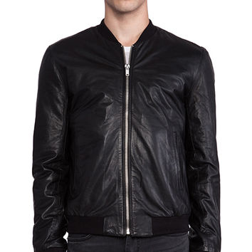 BLK DNM Leather Jacket 81 in Black