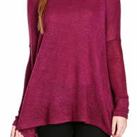 Zoe Open-Stitched Top-FINAL SALE