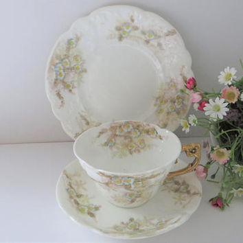 William and Sons antique 1800's Tea trio