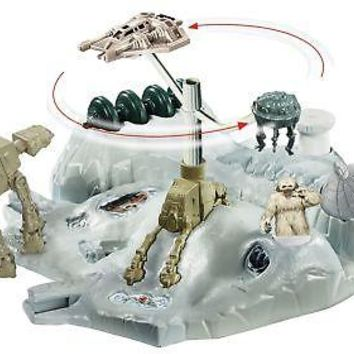 Hot Wheels Star Wars Starship Hoth Echo Base Battle Play Set