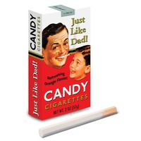 Just Like Dad Candy Cigarettes - Whimsical & Unique Gift Ideas for the Coolest Gift Givers